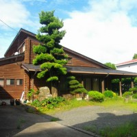 西彼町鳥加郷 国道沿いのお家です