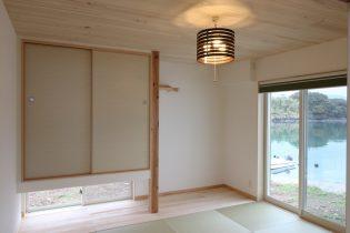 和紙でできた畳
